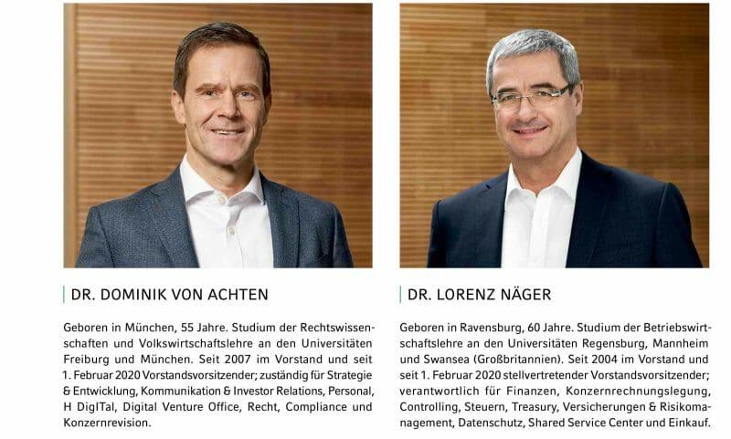 Management von HeidelbergCement.