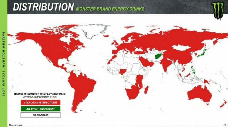 Monster Beverage expandiert international.